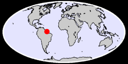 0.80 N, 50.63 W Global Context Map