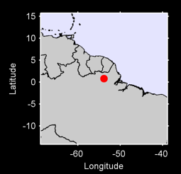 0.80 N, 53.84 W Local Context Map