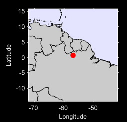 0.80 N, 57.05 W Local Context Map