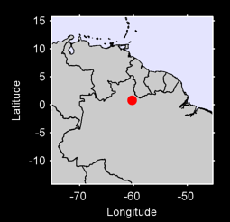 0.80 N, 60.27 W Local Context Map