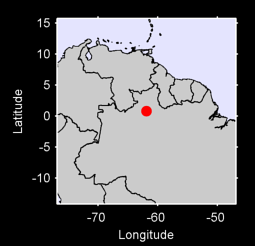 0.80 N, 61.88 W Local Context Map
