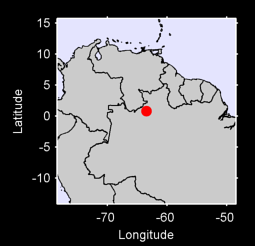 0.80 N, 63.48 W Local Context Map