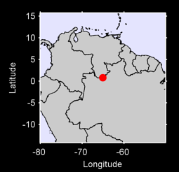 0.80 N, 65.09 W Local Context Map