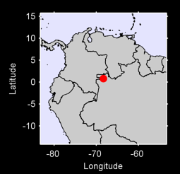 0.80 N, 68.30 W Local Context Map