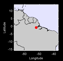 0.80 S, 52.23 W Local Context Map