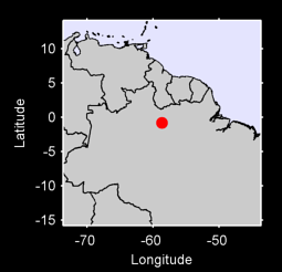 0.80 S, 58.66 W Local Context Map