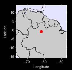 0.80 S, 61.88 W Local Context Map
