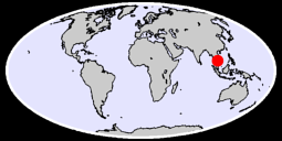 10.45 N, 103.91 E Global Context Map