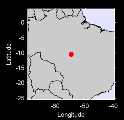 10.45 S, 54.82 W Local Context Map