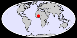 12.05 N, 0.00 W Global Context Map