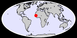 13.66 N, 12.39 W Global Context Map