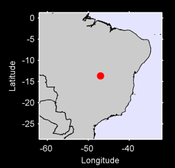 13.66 S, 47.06 W Local Context Map