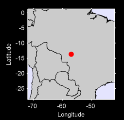 13.66 S, 56.97 W Local Context Map