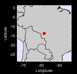 13.66 S, 58.62 W Local Context Map