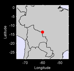 13.66 S, 60.28 W Local Context Map