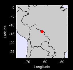 13.66 S, 61.93 W Local Context Map