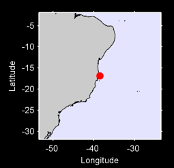 16.87 S, 38.51 W Local Context Map