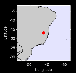 16.87 S, 41.86 W Local Context Map