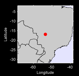 16.87 S, 53.58 W Local Context Map