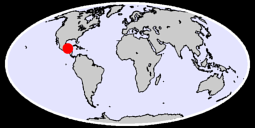 18.48 N, 91.27 W Global Context Map