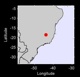18.48 S, 43.94 W Local Context Map
