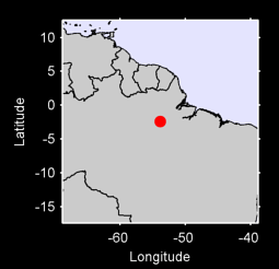 2.41 S, 53.84 W Local Context Map