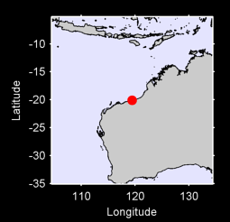 20.09 S, 119.43 E Local Context Map