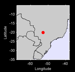 20.09 S, 52.89 W Local Context Map