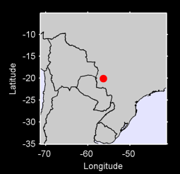 20.09 S, 56.30 W Local Context Map