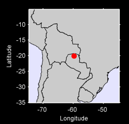 20.09 S, 59.72 W Local Context Map