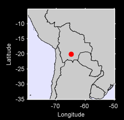 20.09 S, 64.83 W Local Context Map