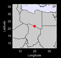 21.70 N, 19.90 E Local Context Map