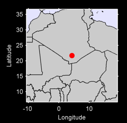 21.70 N, 4.33 E Local Context Map