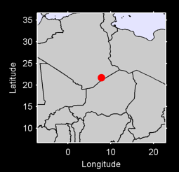 21.70 N, 7.79 E Local Context Map
