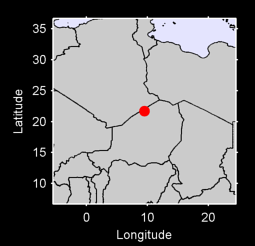 21.70 N, 9.52 E Local Context Map