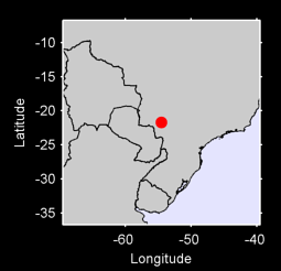 21.70 S, 54.52 W Local Context Map