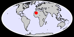23.31 N, 4.37 W Global Context Map