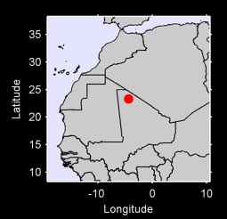 23.31 N, 4.37 W Local Context Map