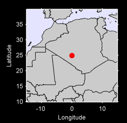 24.92 N, 0.00 W Local Context Map