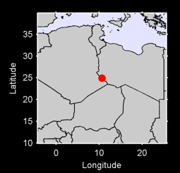 24.92 N, 10.64 E Local Context Map