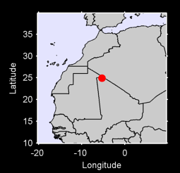 24.92 N, 5.32 W Local Context Map