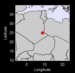 24.92 N, 8.87 E Local Context Map