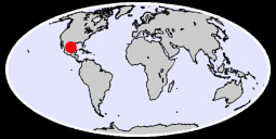 24.92 N, 97.54 W Global Context Map