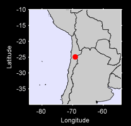 24.92 S, 69.16 W Local Context Map