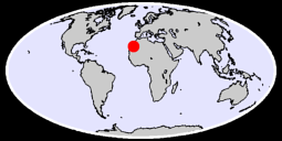 26.52 N, 10.75 W Global Context Map