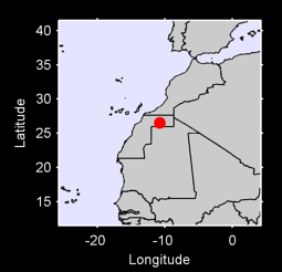 26.52 N, 10.75 W Local Context Map