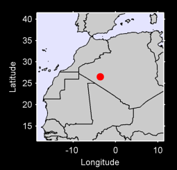 26.52 N, 3.58 W Local Context Map