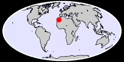 28.13 N, 10.00 W Global Context Map