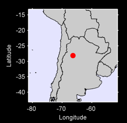 28.13 S, 66.36 W Local Context Map