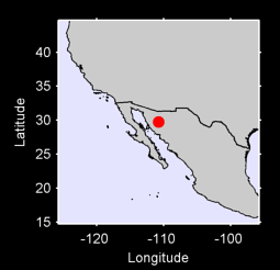 29.74 N, 110.77 W Local Context Map